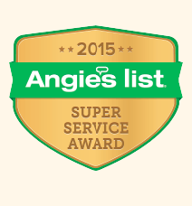 Winner of 2013 Angie's List Super Service Award
